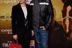 Денис Жупник с супругой