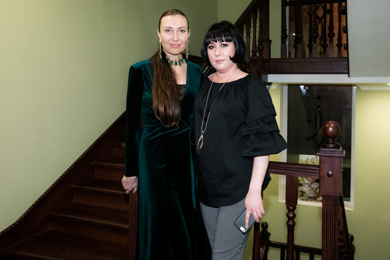 Галина Елизарова и Елена Соловьева