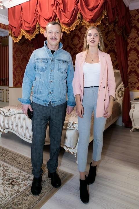 Роман Медынский и Ольга Лаптева